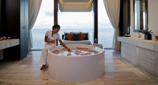 spa en Jumeirah dhevanafushi, viaje privado a Maldivas
