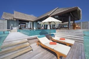 Maldivas, villas sobre el agua