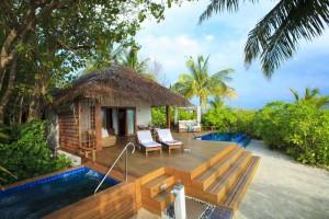 alojamiento hotel baros, hoteles en maldivas, beach villa maldivas, beach villa baros