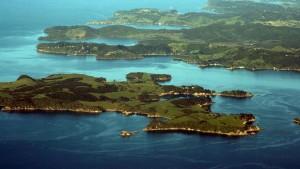 Viaje a Nueva Zelanda, Bahía de Auckland